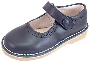 DE OSU 5Z8611 - Navy Blue School Shoes