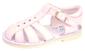 DE OSU 8064 - Pink Fisherman Sandals - EU 29 Size 11