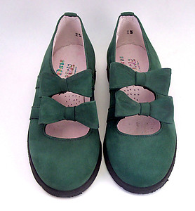 A-1145 - Forest Green Dress Shoes