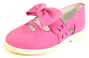 DE OSU A-1273 - Fuschia Bow Mary Janes