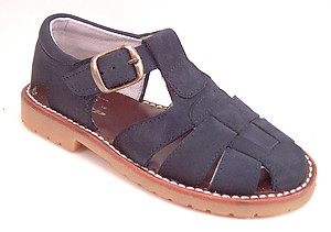 A-7119 - Navy Fisherman Sandals
