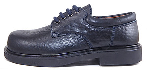 DE OSU/FARO B-2467 - Navy Blue Oxfords - EU 31 Size 13