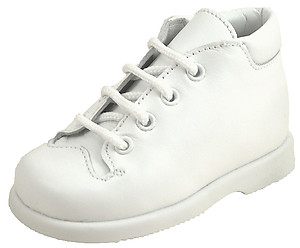 De Osu B-6066 - White Leather Walking Boots