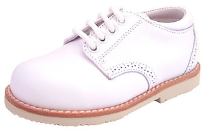 DE OSU/FARO B-6577 - White Dress Oxfords
