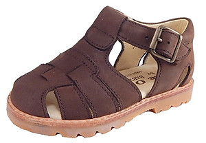 DE OSU B-7119 - Brown Nubuck Sandals