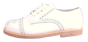 DE OSU/FARO F-2740 - White Dress Oxfords