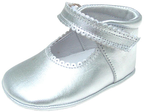 DE OSU DO-103 - Silver Crib Shoes
