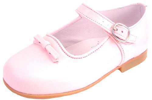 P-2554 - Pink Bow Mary Janes - EU 24 Sz 7